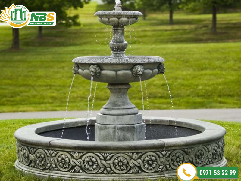 Đài phun nước phù hợp cho nhiều công trình