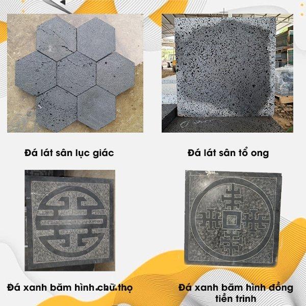 Các loại đá Slate lát sân