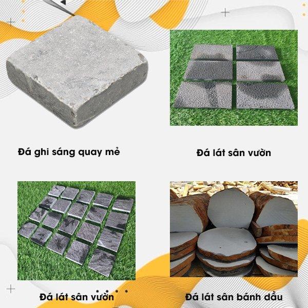 Các loại đá lát sân vườn hiện nay