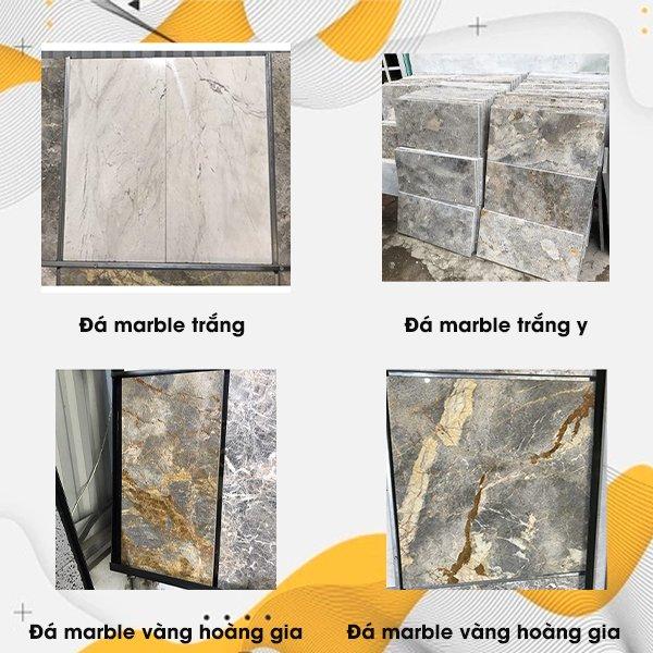 Đá ốp tường marble