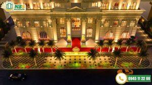 Dự án thi công đài phun nước phần cảnh quan hạ tầng dự án D'.PALAIS DE LOUIS - Tân Hoàng Minh