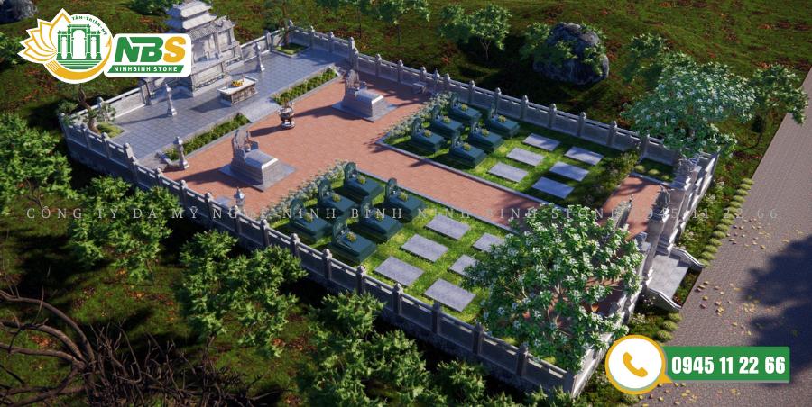 Dự án khu lăng mộ đá xanh tại Song Giang