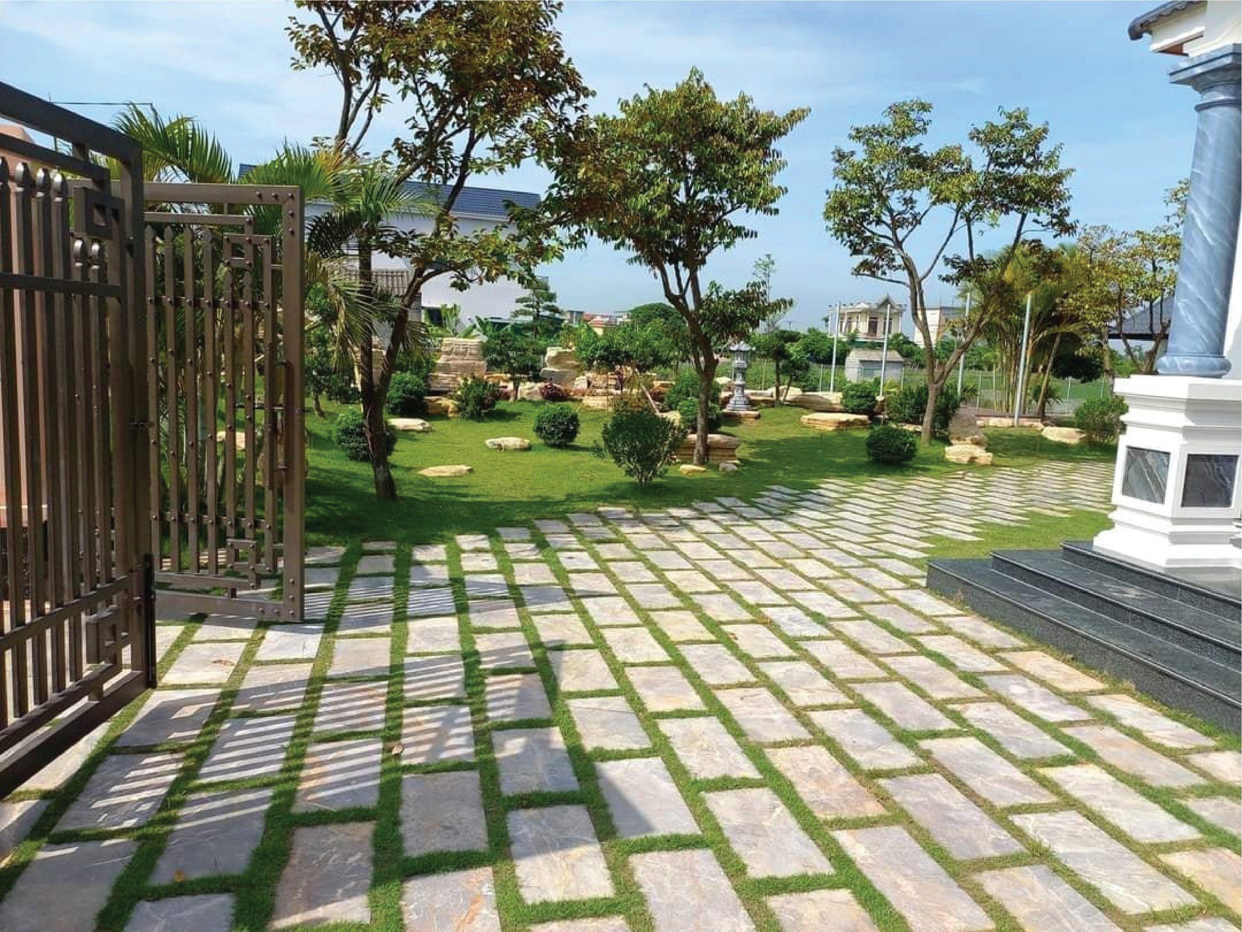 tieru cảnh sân vườn