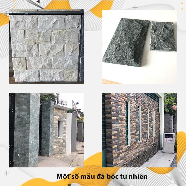 Một số mẫu đá bóc tự nhiên ốp tường trang trí