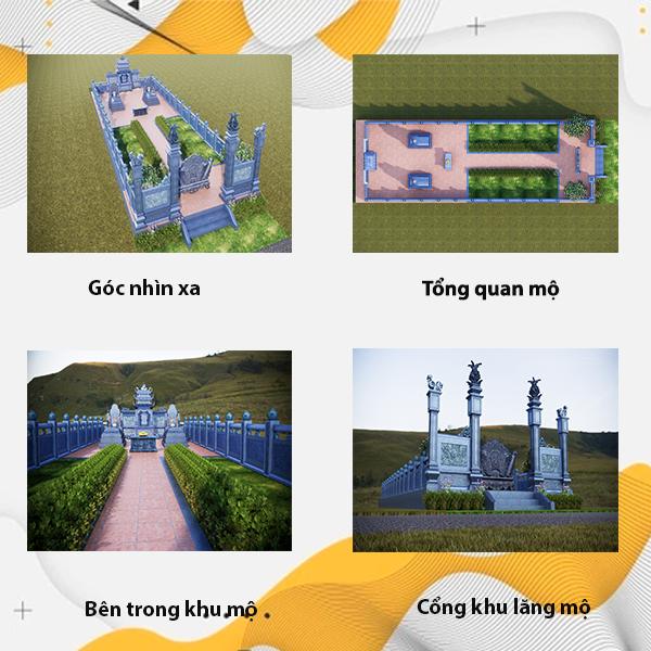 Khu lăng mộ gia đình công trình tâm linh mang nhiều ý nghĩa của người Việt
