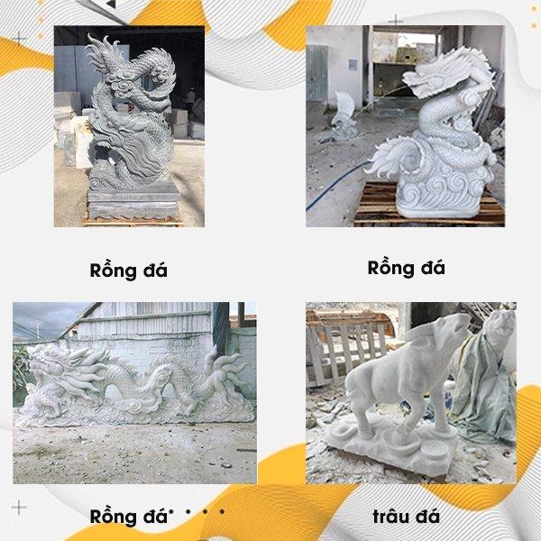 Một số mẫu tượng đá nghệ thuật